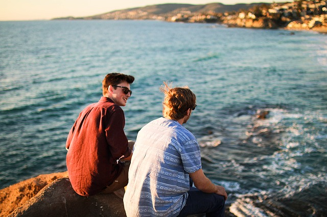 a person is helping his friend who suffers from depression and anxiety